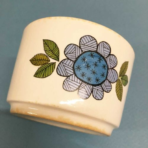 J & G Meakin Studio Sugar Bowl - Topic 60s